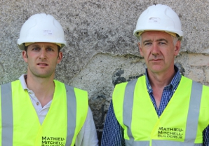 Company Directors Laurik Mathieu and Tom Mitchell