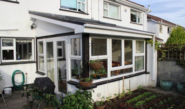 Sun room extension in Oranmore