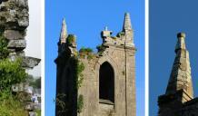 Minor repairs and consolidation of stone work at Monivea Church