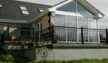 Sun Room Extension & Patio in Killeenadeema